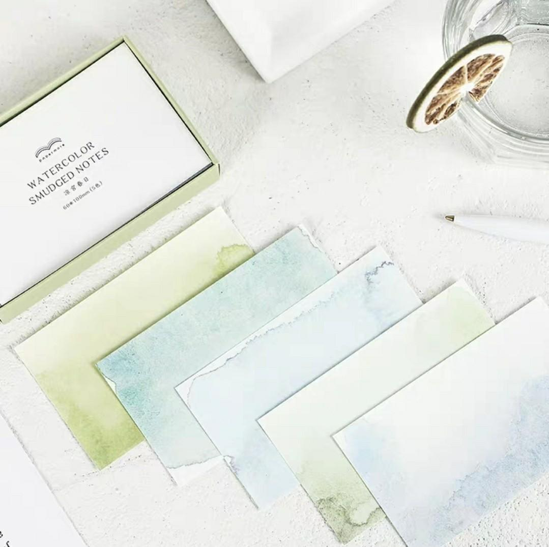 Watercolours craft paper (10 sheets)