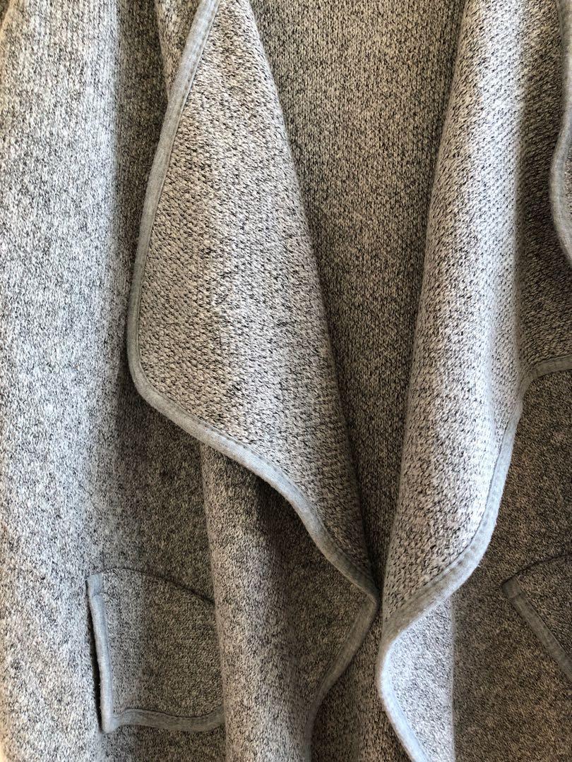 Waterfall coatigan