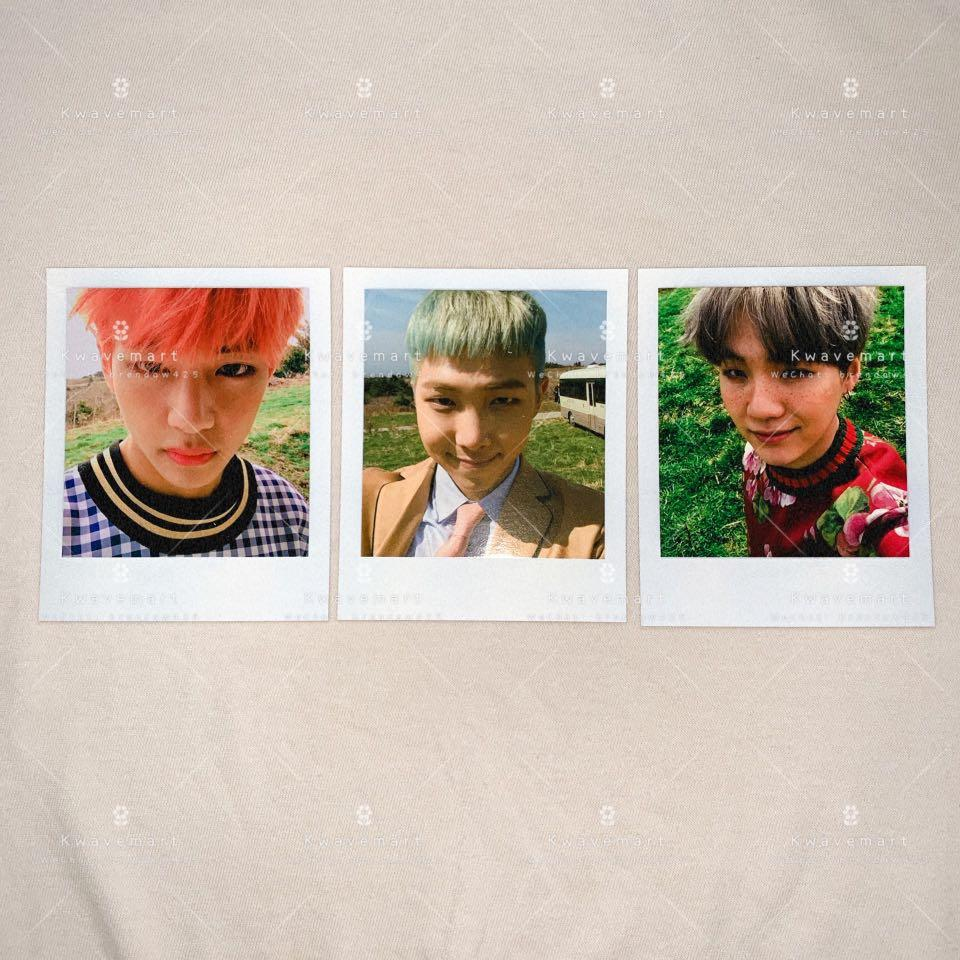 [WTS] BTS V / RM / SUGA Polaroid from Young Forever Album