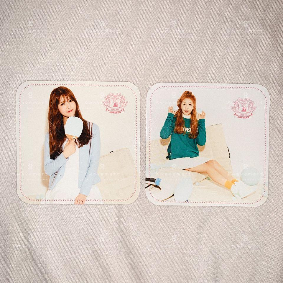 [WTS] LOVELYZ MIJOO / YEIN Photocard from LOVELINUS