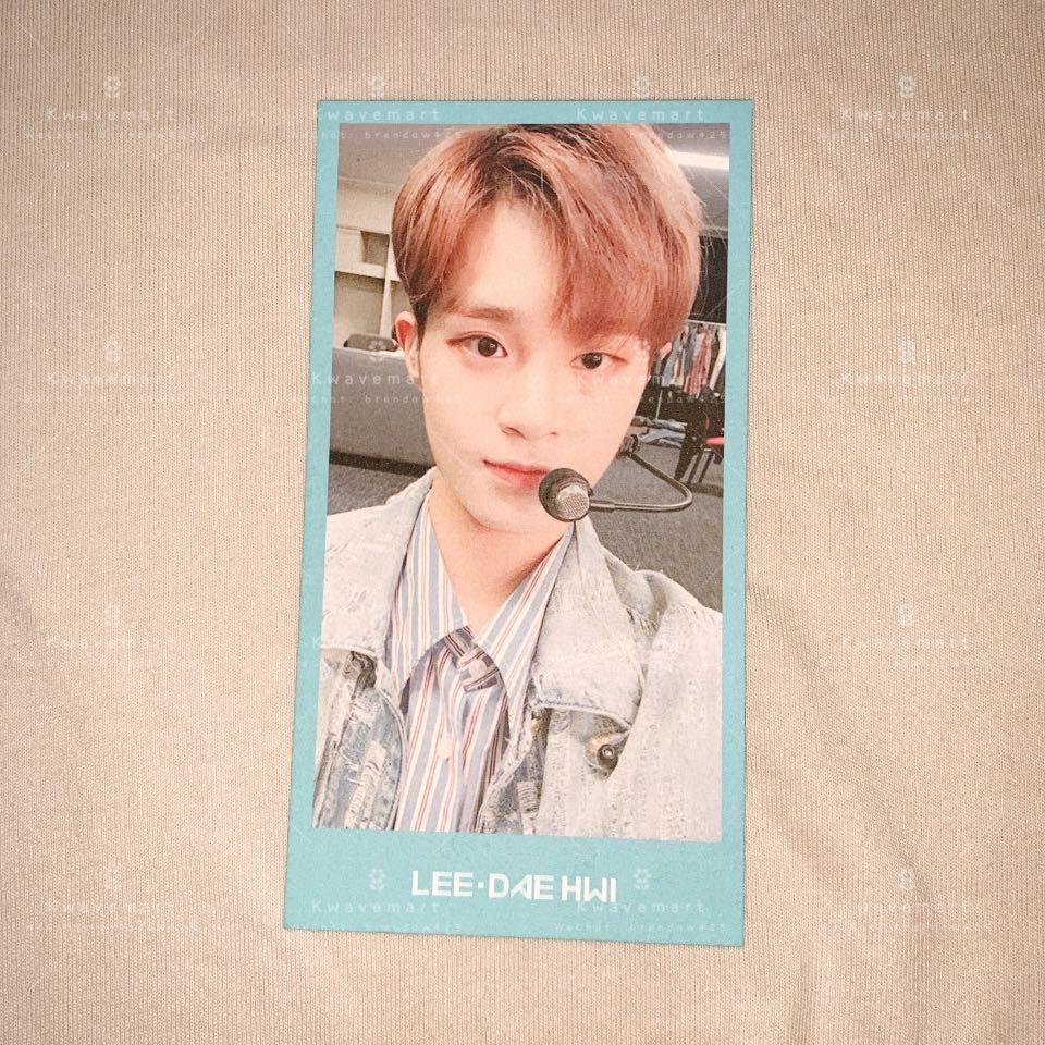 [WTS] WANNA ONE Daehwi Photocard from WANNA ONE 1st Membership Kit