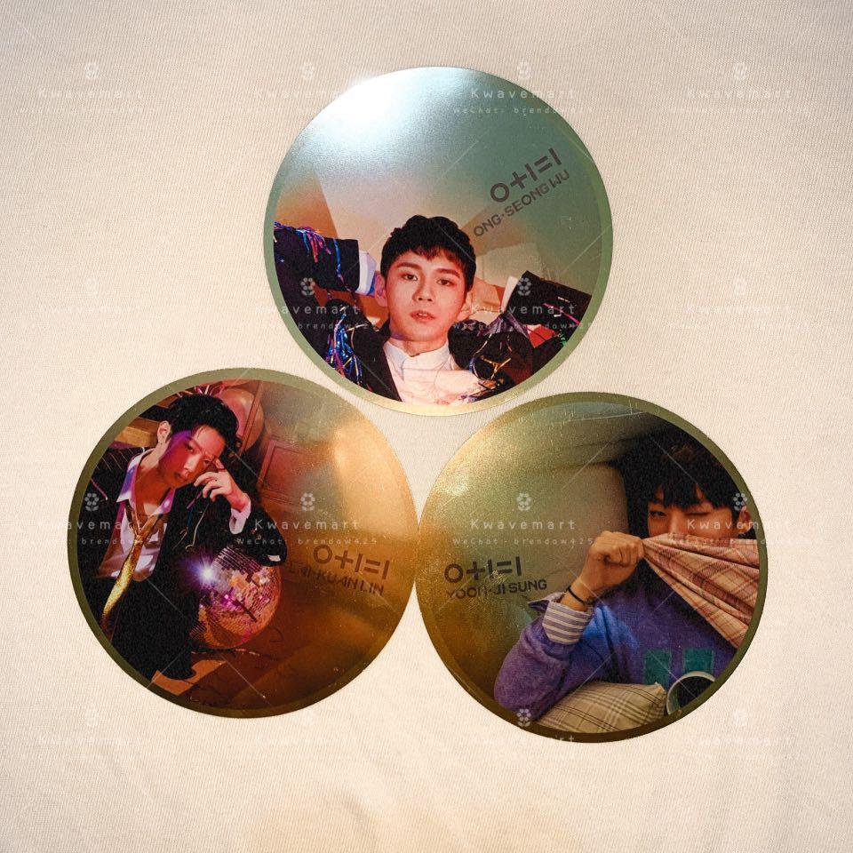 [WTS] WANNA ONE SEONGWOO / JISUNG / KUANLIN - Mirror Card from I.P.U Album