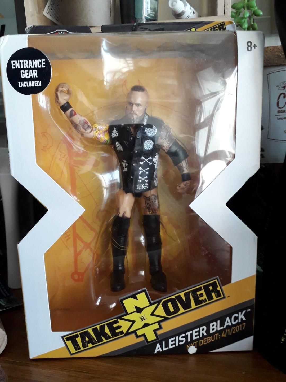 Wwe Mattel NXT Takeover Aleister Black