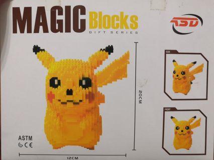 Magic Block Nanoblock Pikachu