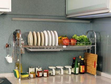 304不鏽鋼瀝水架 水槽架 瀝碗盤架 蔬果瀝水架