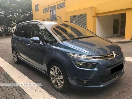 Citroen Grand C4 1.6 e-hdi Diesel (7 seater) (Lease)