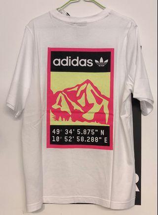Adidas originals 山脈限量T