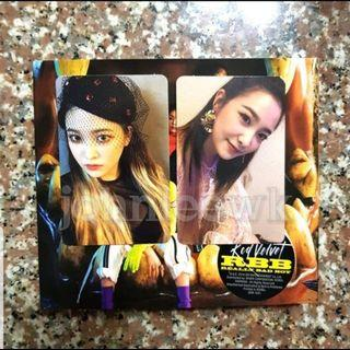 WTB Red Velvet Really Bad Boy RBB Yeri Photocard