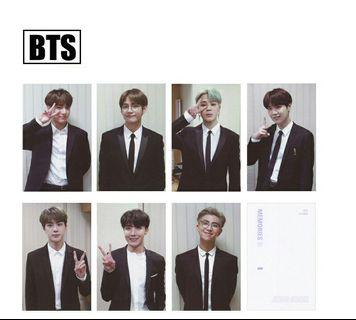 [ PO ] BTS MEMORIES OF 2018,2017 PHOTOCARDS SET