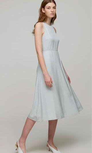 Our Second Nature Open-Back Midi Dress