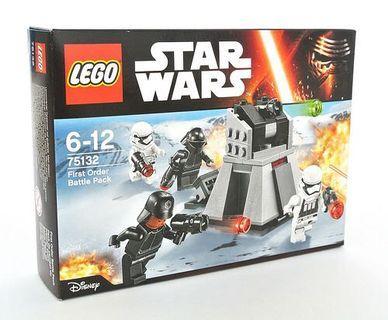🆕 LEGO 75132 Star Wars First Order Battle Pack