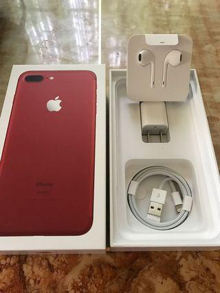 iPhone7 plus Red edition 256Gig