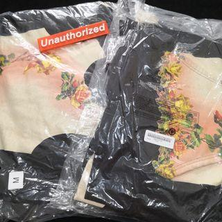 Supreme JPG floral printed hoodie