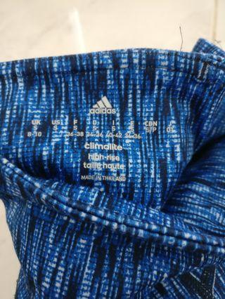 Adidas High Waisted Leggings, Size S