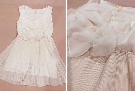 [ALL FOR RM15] Pastel Pink Pleated Dress