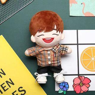 WTS Doll clothes 15cm/20cm - Burberry double checks shirt