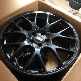 BBS CH-R for GTR35 Original Flow Formed Made in Germany. Excellent Condition!