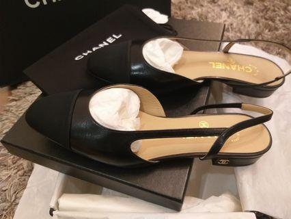 Brand New Chanel Slingback Shoes
