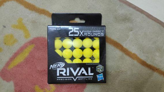Nerf rival ball ammo