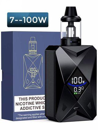 YumaPuff Goblin 100w Electronic Cigarette Vape Kit Built in Rechargeable 2000mah Battery with Display Screen E Cigarette