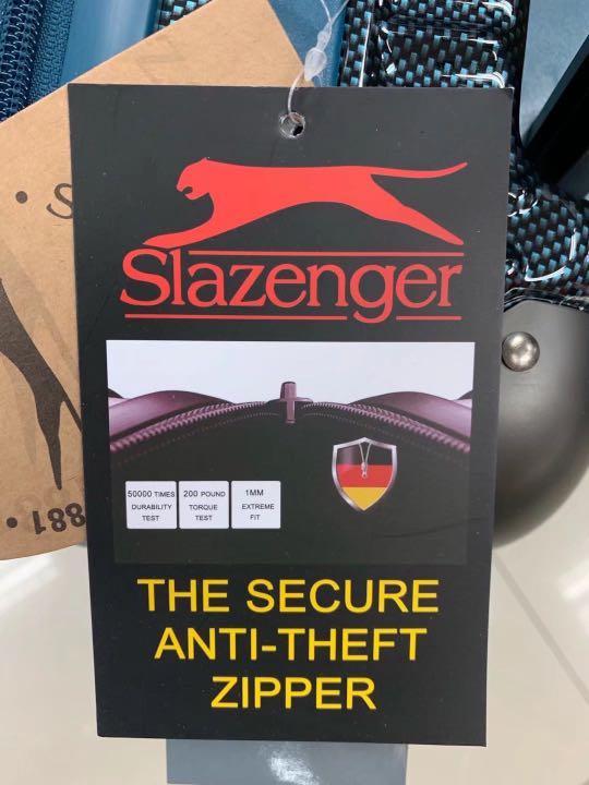 阿豪開業11年感謝各界朋友支持 (英國 品牌 Slazenger) 行李箱 luggage travel 25寸 全新