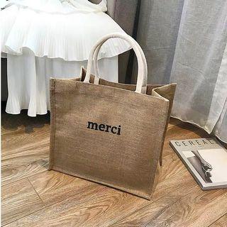 韓🇰🇷草編手提袋