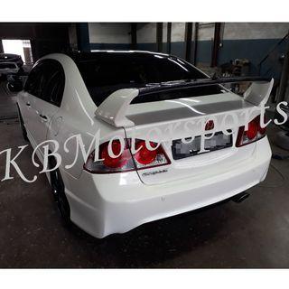 Honda Civic FD2R TypeR Rear Boot Spoiler