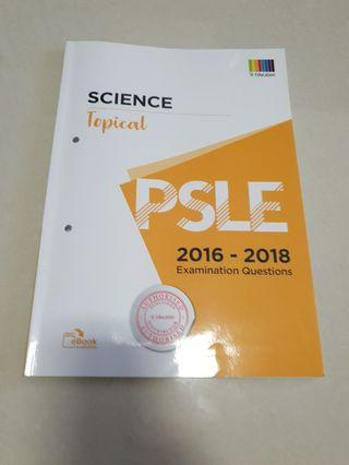 Psle Science topical exam questions 2016-2018