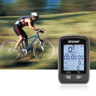 IGPSPORT iGS20E Rechargeable Bicycle Computer Speedometer GPS IPX6 Screen Backlight Water Proof Stopwatch with Mount