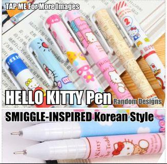 Pen, Children Day Gift, Hello Kitty Pen, Stationery, Birthday, Christmas, Cute SMIGGLE-INSPIRED Korean Style Pen  (Black  Ink) for Party, Gifts, Goodie Bag