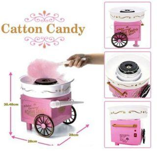 Mini Cotton Candy Machine Floss Maker  Sugar Sweet for Home Christmas Party Family Gathering Gift Idea!