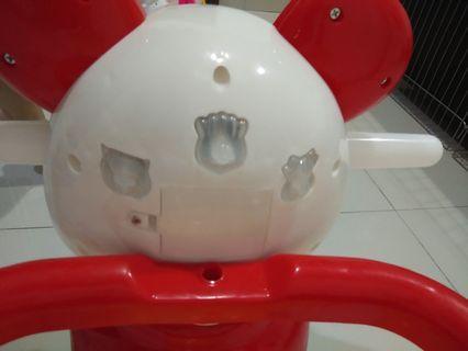 Kereta panda dorong ada baterei free sepatu bayi