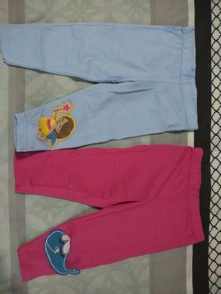 Celana legging bayi free celemek bayi