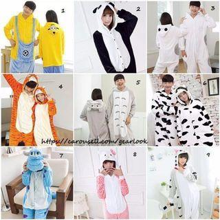 * INSTOCK* Adult Kigurumi Unisex Onesies / Pyjamas