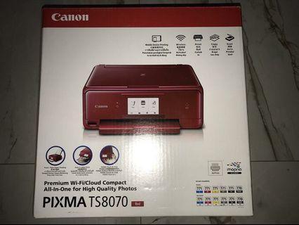 Printer Canon Pixma TS8070 (Red)