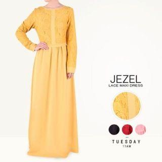 Poplook Jezel Lace Maxi Dress