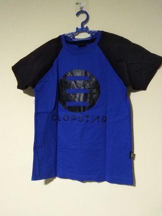 (Size S) Blue T-Shirt