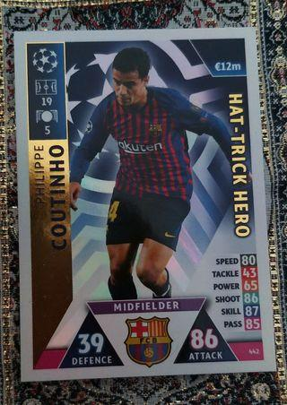Match Attax Card