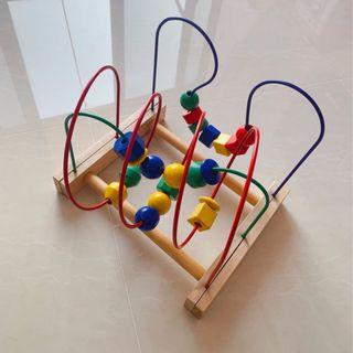 wts Bead Roller Coaster / Activity Cube