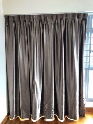 Curtain W164 cm x L211 cm x 2pcs