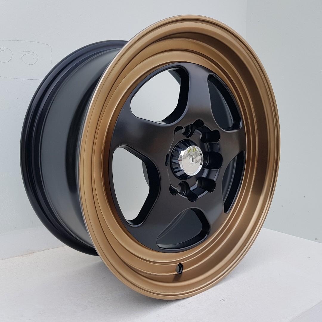 15 inch sport rims 15X7.0 8H100/114.3 ET 35 R264