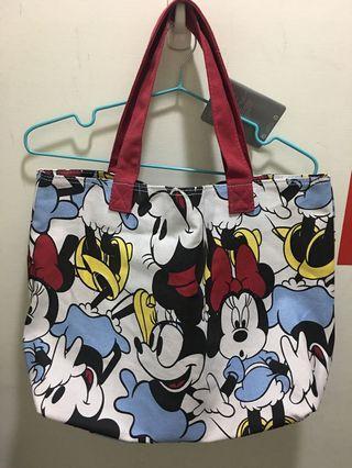 ❤️美國迪士尼米妮手提包(可放A4)