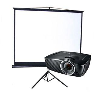 Rent projector, screen, TV, sound system