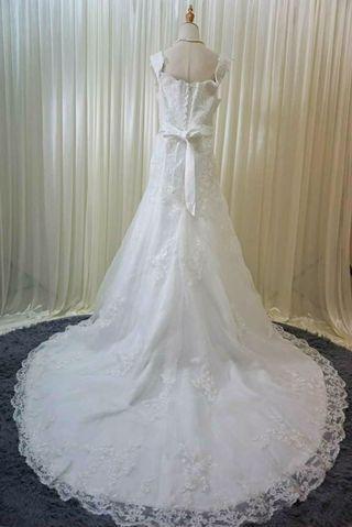Plus size Wedding Dress bridal gown khawin ready stock