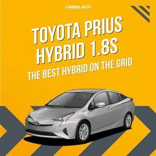 🌟🌟🌟The Best Hybrid on Grid Prius Hybrid 1.8 for Car Rental🚗🚗