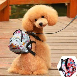 Pet's Leash with Backpack