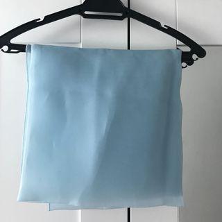 Calacara Square Organza Code:Ocean Blue