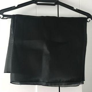 Calacara Square Organza Code:Black
