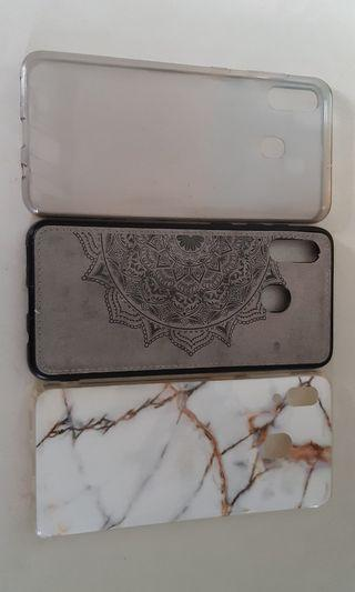 Samsung A30 casing original and 2 other