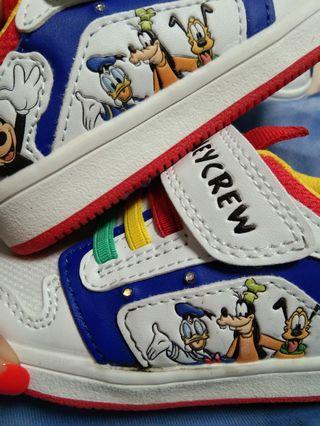 Mickey閃燈波鞋